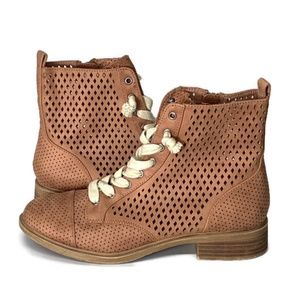 Report boots shoes combat Hagen perforated 6.5